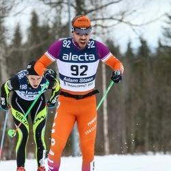 Skiing 90 km - Adam Steen (92)