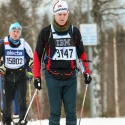 Skiing 90 km - Erik Sögaard (9147)