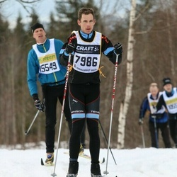 Skiing 90 km - Anders Andersson (7986)