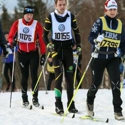 Skiing 90 km - Thomas Enwall (10155), Janne Britt Hansen (17399)