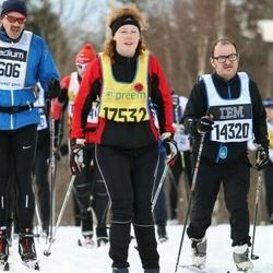 Skiing 90 km - David Edman (14320), Monika Kristel Hernblom (17532)