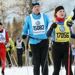 Skiing 90 km - Anders Wickman (15082), Maria Tamm (17056)