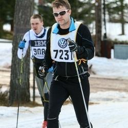 Skiing 90 km - Henrik Norén (7231)