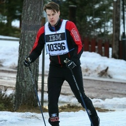 Skiing 90 km - Fredrik Haglind (10396)
