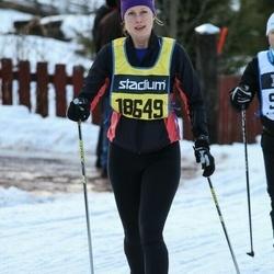 Skiing 90 km - Sofie Nylén (18649)