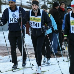 Skiing 90 km - Christer Ottosson (9341), Sam Fall (14124)