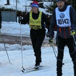 Skiing 90 km - Antti Härkönen (10142), Helen Frisk (17590)