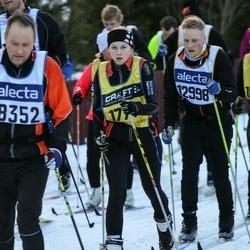 Skiing 90 km - Dan Eriksson (12998), Ellinor Vejlens (17716)