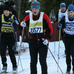 Skiing 90 km - Anders Axi (13577), Camilla Jakobsson (17605)