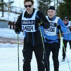 Skiing 90 km - Jan Emil Ahlbom (14664)