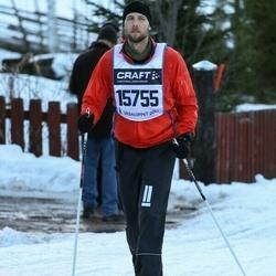 Skiing 90 km - Henrik Östergaard (15755)