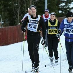 Skiing 90 km - Daniel Carlsson (13718)