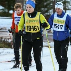 Skiing 90 km - Anders Skotte (15417), Johanna Rangenstedt (18461)