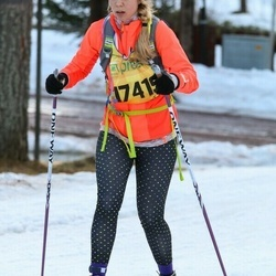 Skiing 90 km - Caroline Rafstedt (17419)
