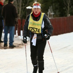 Skiing 90 km - Åsa Olsson (17574)