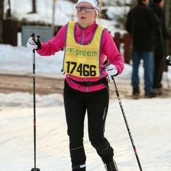 Skiing 90 km - Jeanette Bäcklund (17466)