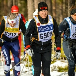 Skiing 90 km - Andreas Dackell (6969)
