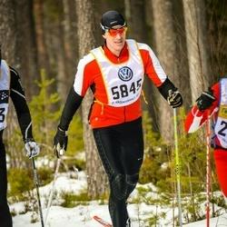 Skiing 90 km - Daniel Arvidsson (5845)