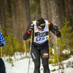 Skiing 90 km - Anders Degselius (6224)
