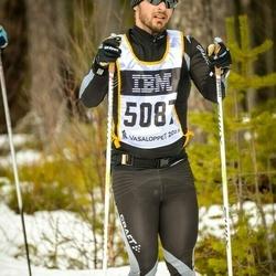 Skiing 90 km - Fredrik Hedlund (5087)