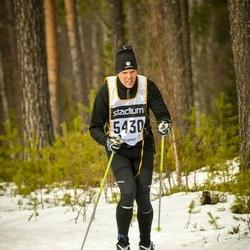 Skiing 90 km - Anders Hellman (5430)