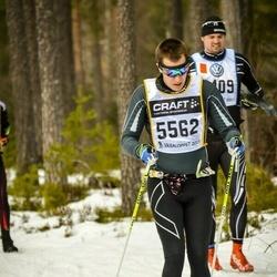 Skiing 90 km - Björn Evers (5562)
