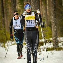 Skiing 90 km - Simon Lönnvik (7770)
