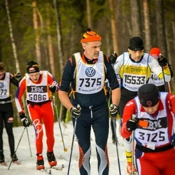 Skiing 90 km - Anders Andersson (7375)