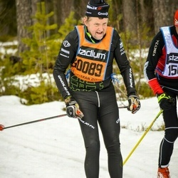 Skiing 90 km - Christer Park (30089)