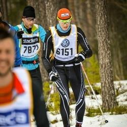 Skiing 90 km - Erlend Ringsgård (6151)