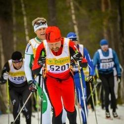 Skiing 90 km - Henrik Gustafsson (5201)