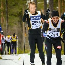 Skiing 90 km - Alexander Hassellöv (6984)