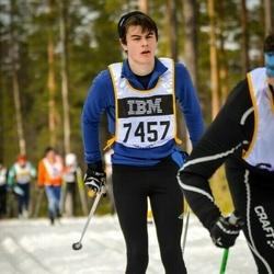 Skiing 90 km - Elias Karlsson (7457)