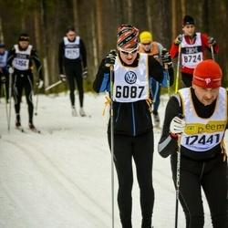 Skiing 90 km - Lars Vallin (6087)