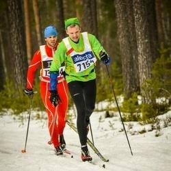 Skiing 90 km - Martin Lannering (7154)