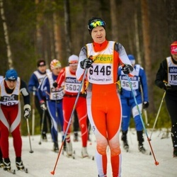 Skiing 90 km - Lars Bredesen (6446)