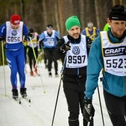 Skiing 90 km - Thomas Malm (8597)