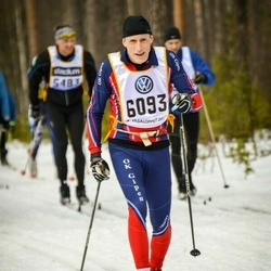 Skiing 90 km - Claes Fransson (6093)