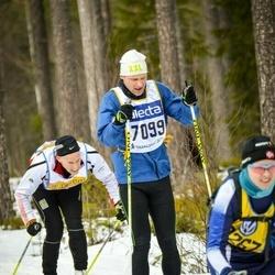 Skiing 90 km - Martin Wallin (7099)