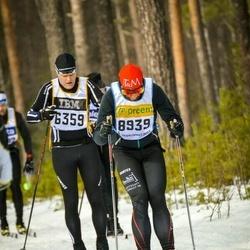 Skiing 90 km - Henrik Widegren (6359), Mattias Persson (8939)