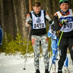 Skiing 90 km - Anders Geijer (8430)