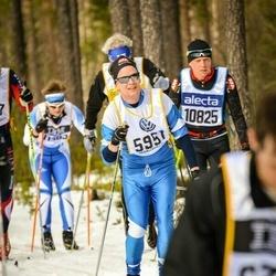 Skiing 90 km - Claes Johansson (5951)