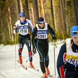 Skiing 90 km - Peder Ullevold (6918), Trond Ryen (6981)