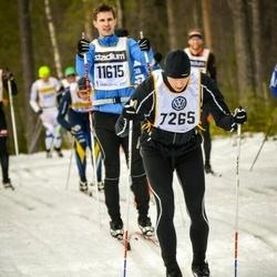 Skiing 90 km - Jörgen Widmark (7265)