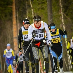 Skiing 90 km - Åke Höljer (7483)