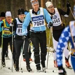 Skiing 90 km - Fredrik Pagmen (7068)