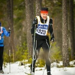 Skiing 90 km - Thomas Fredriksson (6920)