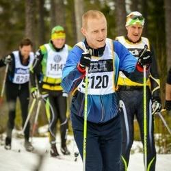 Skiing 90 km - Marcus Bennstam (5120)