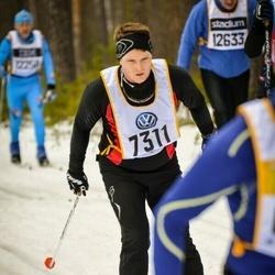 Skiing 90 km - Fredrik Åkesson (7311)