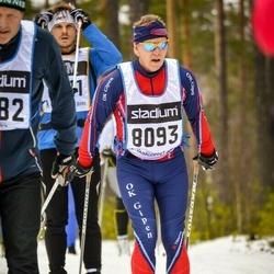 Skiing 90 km - Bengt Lingegård (8093)